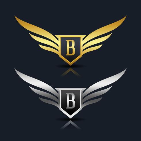 Letter B embleem Logo vector
