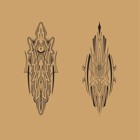 Auto motorraces Voertuig Graphics, tribal Vinyls en stickers vector