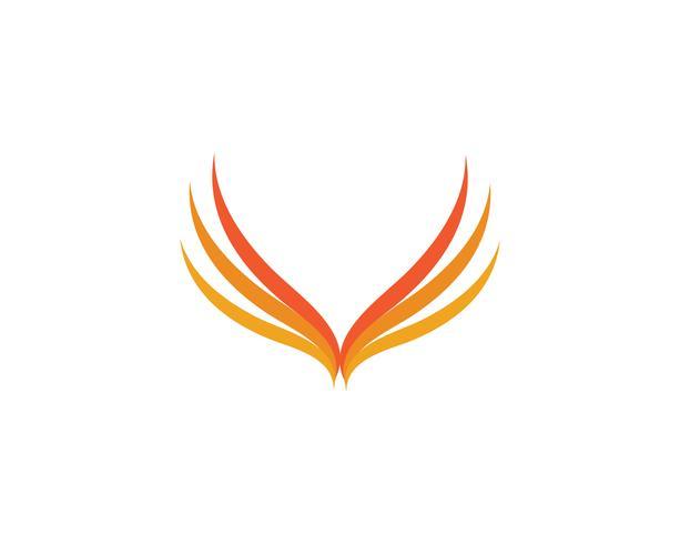 Vuur vlam Logo sjabloon vector pictogram Olie, gas en energie