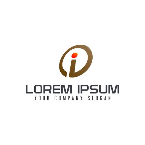 Letter I logo ontwerpsjabloon vector