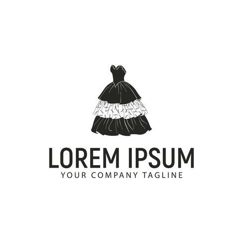 vrouwen mode logo ontwerpsjabloon concept vector