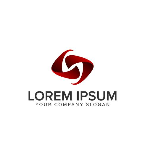 letter n modern logo vector