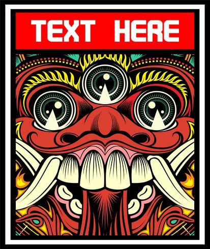 lucifer, evil, satanic demon vector hand drawing.Shirt ontwerpen, biker, disk jockey, gentleman, kapper en vele others.isolated en gemakkelijk te bewerken. Vectorillustratie - Vector