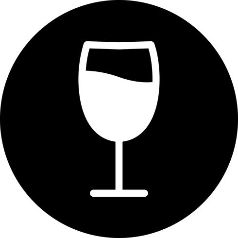 Vector wijn pictogram