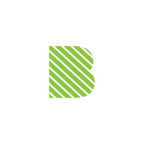 letter B creatieve logo sjabloon vector illustrator