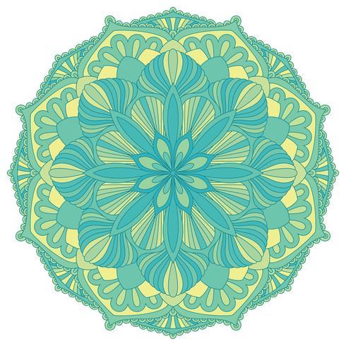 Mandala. Oosters decoratief element. Islam, Arabisch, Indiaas, Ottomaanse motieven. vector