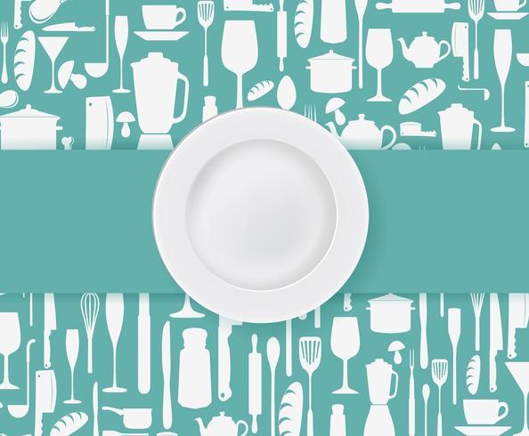 Restaurant menu ontwerp vector