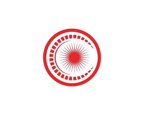 Zon Vector illustratie pictogram Logo en symbolen sjabloonontwerp