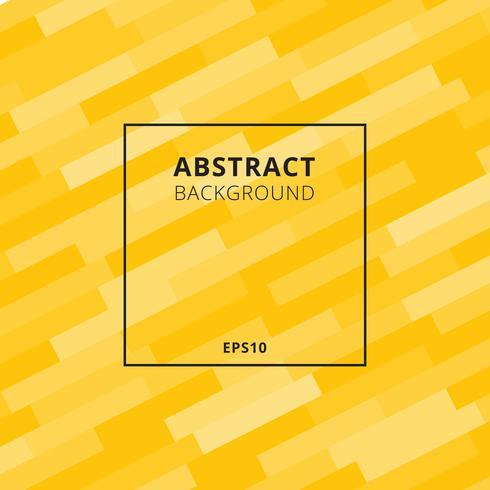 Elegant diagonaal geometrisch of gewaagd lijnenpatroon met zwarte kader gele achtergrond. vector