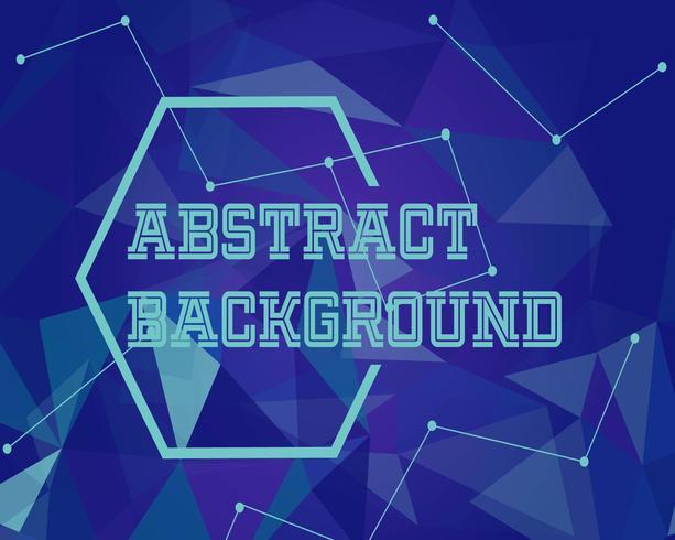 Abstracte achtergrond met modern design en futuristische stijl vector