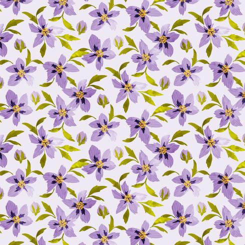 Floral naadloze patroon vector