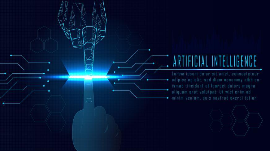 AI-concept vector