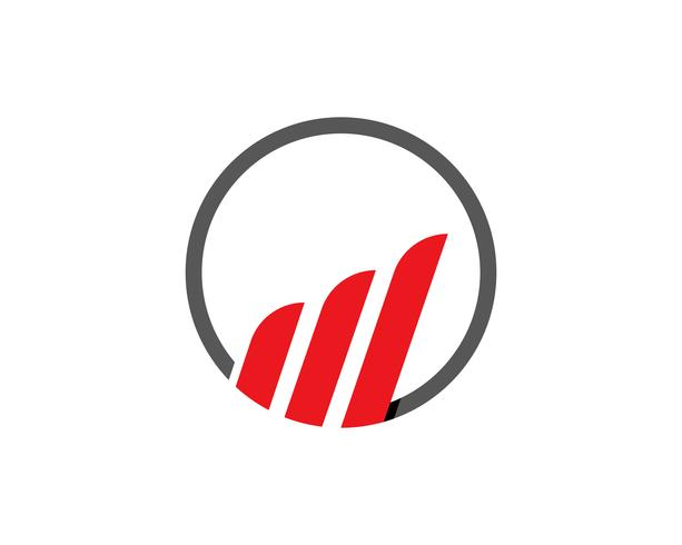 Handelsembleem en symbolenfinanciën vector