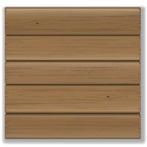 Vectortextuur van de oude bruine houten raad vector
