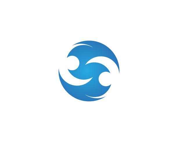 S logo vector sjabloon