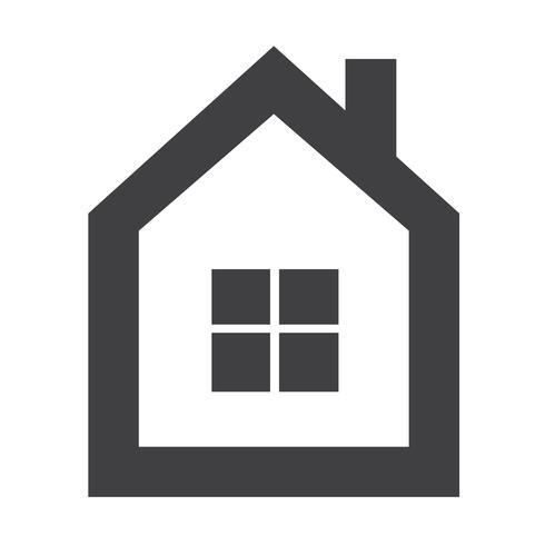 home pictogram symbool teken vector
