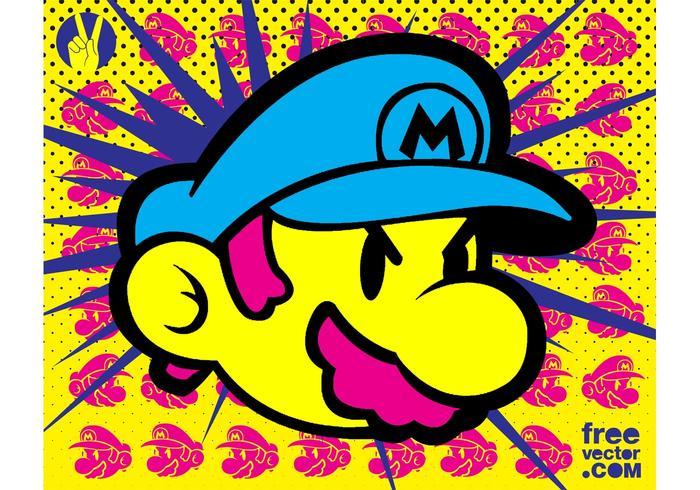 Super Mario vector