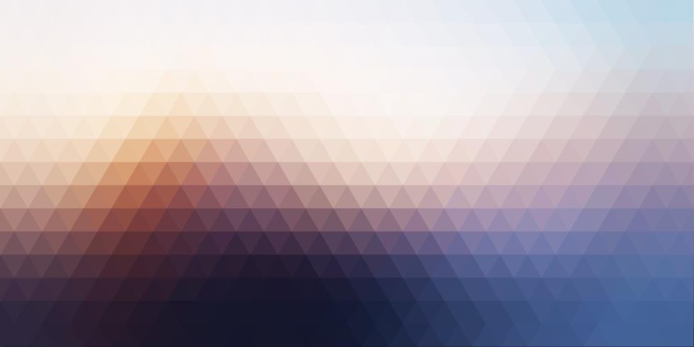 Abstracte bannerachtergrond met laag polyontwerp vector