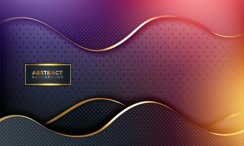 Moderne abstracte achtergrond vector
