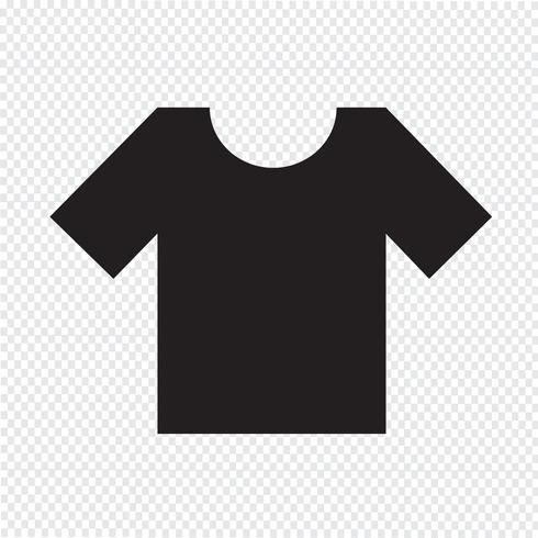 T-shirt pictogram symbool teken vector