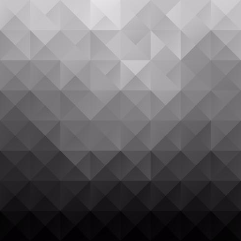 zwarte raster mozaïek achtergrond, creatief ontwerpsjablonen vector