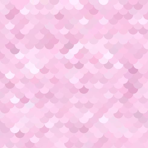 Roze dak tegels patroon, creatief ontwerpsjablonen vector
