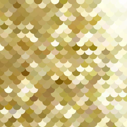 Geel dak tegels patroon, creatief ontwerpsjablonen vector