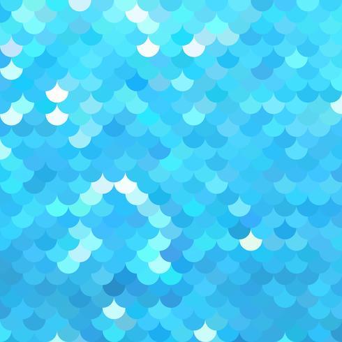 Blue Roof-tegelspatroon, Creatieve Ontwerpmalplaatjes vector