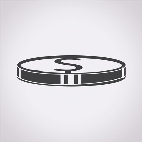 Geld pictogram symbool teken vector