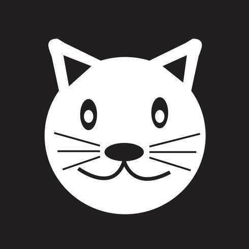 Kat pictogram symbool teken vector