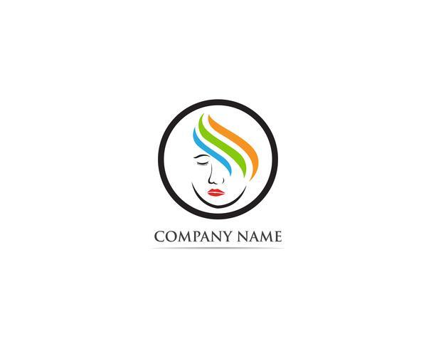 Schoonheidssalon logo-vectoren vector