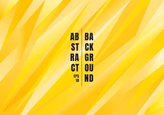 Abstracte felgele kleur veelhoekige achtergrond. Creatieve sjabloon driehoeken voor gebruik in ontwerp, dekking, banner web, flyer, brochure, poster. enz. vector