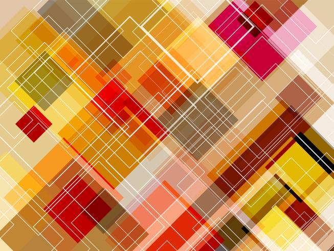 Diagonale vierkante laag met abstracte achtergrond. vector