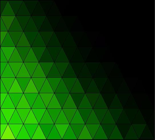 Groen vierkant raster mozaïek achtergrond, creatief ontwerpsjablonen vector