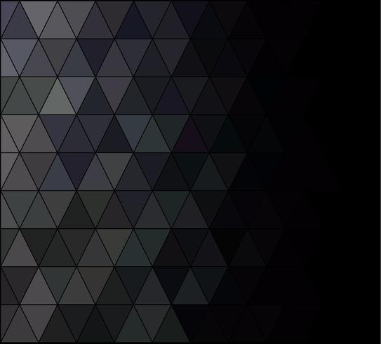 Zwart vierkant raster mozaïek achtergrond, creatief ontwerpsjablonen vector