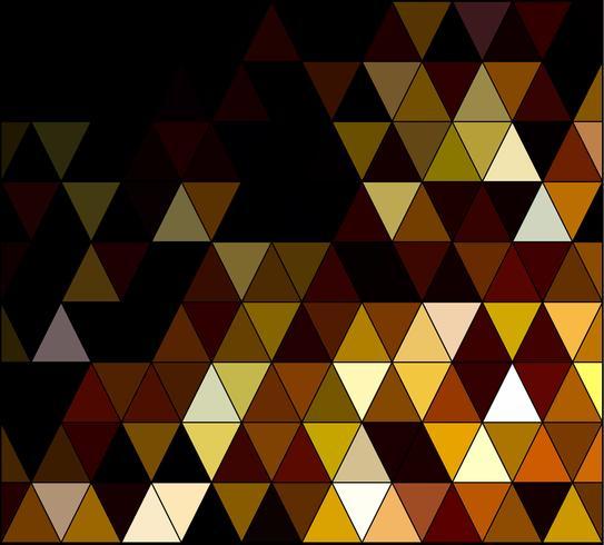 Geel vierkant raster mozaïek achtergrond, creatief ontwerpsjablonen vector