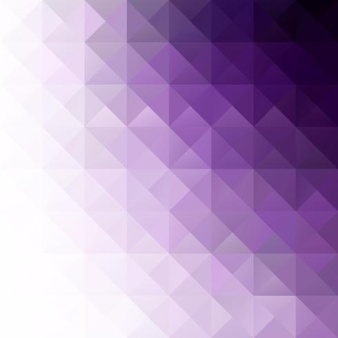 paarse raster mozaïek achtergrond, creatieve ontwerpsjablonen vector