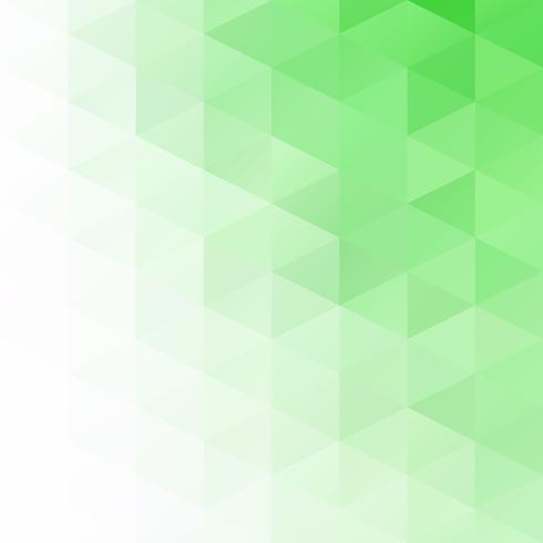 Groene raster mozaïek achtergrond, creatief ontwerpsjablonen vector