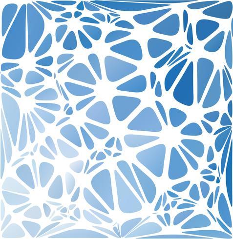 Blauwe moderne stijl, creatieve ontwerpsjablonen vector