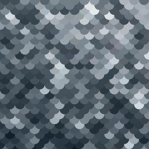 zwart dakpannenpatroon, creatieve ontwerpsjablonen vector