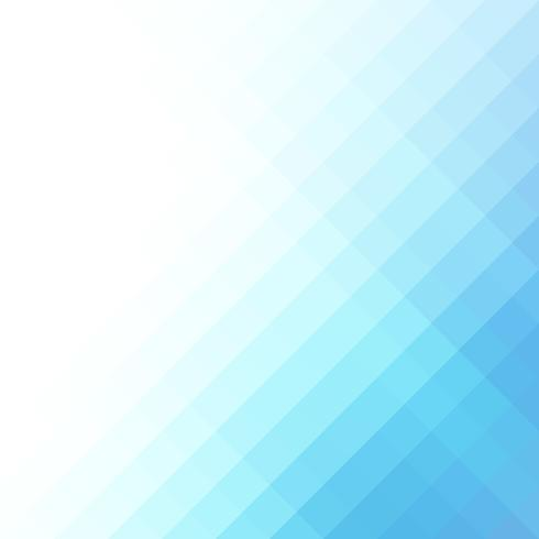 Blauw vierkant raster mozaïek achtergrond, creatief ontwerpsjablonen vector