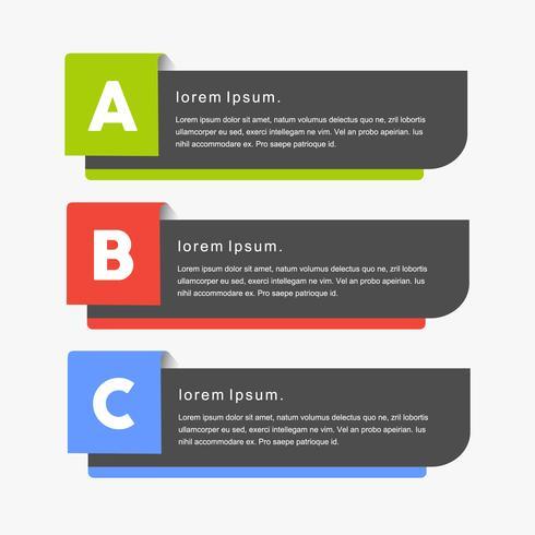 Creatieve minimaal moderne vector png banners