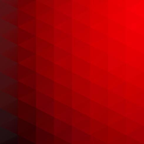 Rode raster mozaïek achtergrond, creatief ontwerpsjablonen vector