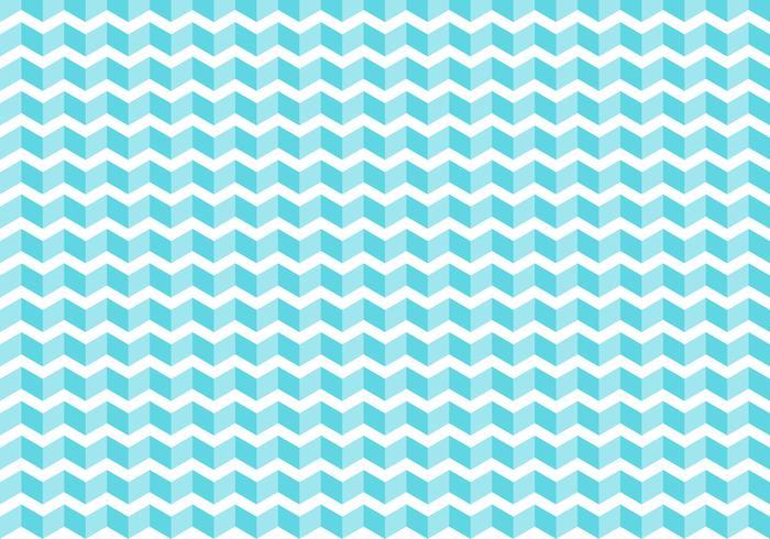 De abstracte blauwe chevron betegelt patroon op witte achtergrond en textuur. zigzag. vector