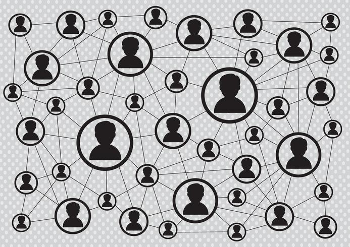 Netwerkverbinding Symbool Teken vector