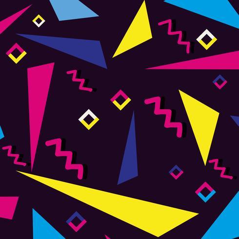 kleur geometrisch figuur achtergrondontwerp vector