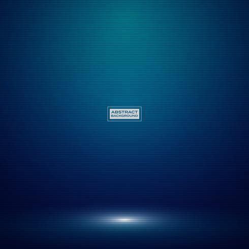 Abstracte donkerblauwe gradiëntkleur van het mockupachtergrond van de technologiestudio. Decoreren voor advertentie, posterproduct, show, artwork, high-tech stijl. vector