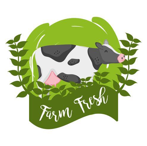 Farm verse cartoons vector
