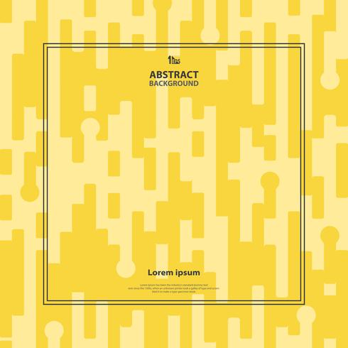 Abstracte gele streep patroon achtergrond. vector