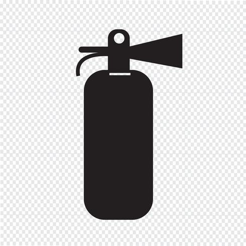 Brandblusser pictogram vector